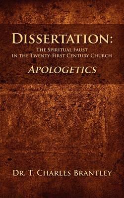 Dissertation: The Spiritual Faust in the Twenty-First Century Church