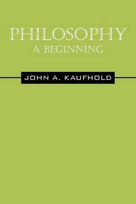 Philosophy-A Beginning