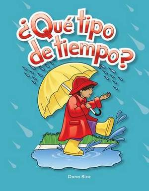 Que Tipo De Tiempo? (What Kind of Weather?) Lap Book