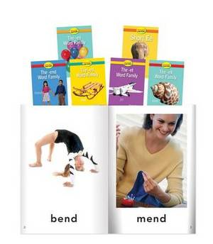 Short E Word Families, Grade PreK-K 6 Book Set