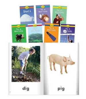 Short I Word Families, Grade PreK-K 8 Book Set