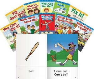 Vowels and Rimes Storybooks: Mixed Letter Practice Set, Grades PreK-1