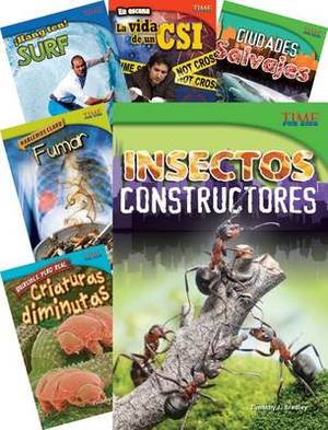 Time for Kids Informational Text Grade 4 Spanish 30-Book Set (Time for Kids Nonfiction Readers)