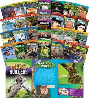 Time for Kids Informational Text Grade 4 Readers 30-Book Set (Time for Kids Nonfiction Readers)