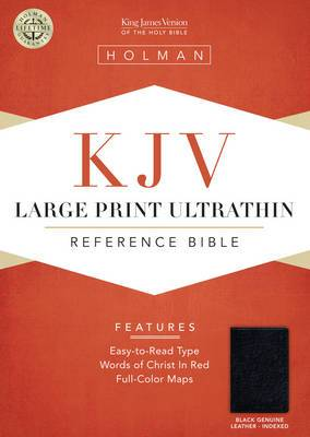 Large Print Ultrathin Reference Bible-KJV