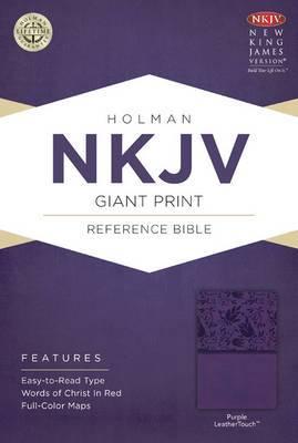 Giant Print Reference Bible-NKJV
