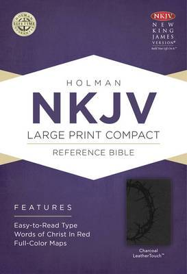 Large Print Compact Reference Bible-NKJV
