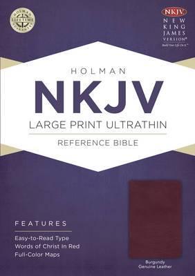 Large Print Ultrathin Reference Bible-NKJV