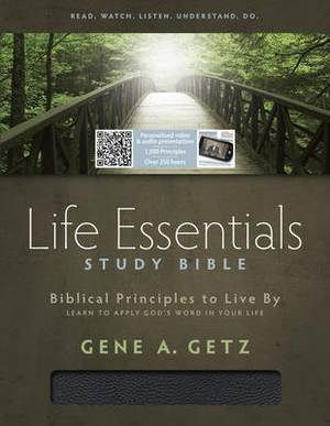 Life Essentials Study Bible-HCSB