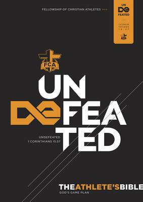 FCA Athlete's Bible: Undefeated-HCSB