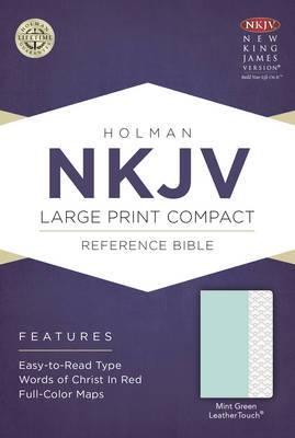 Large Print Compact Reference Bible - NKJV