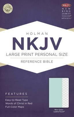 Large Print Personal Size Reference Bible-NKJV