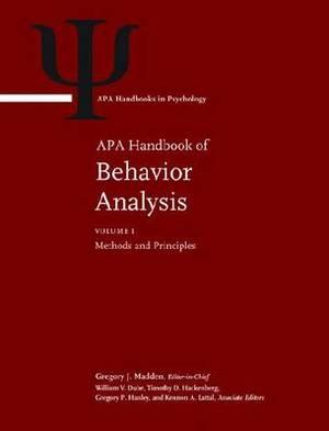 APA Handbook of Behavior Analysis