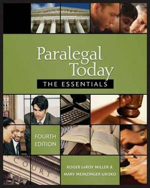 Paralegal Today: The Essentials and Bankruptcy Supplement Package