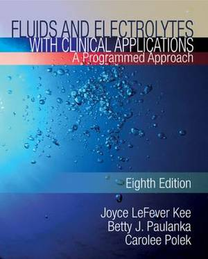 Fluids and Electrolytes with Clinical Applications