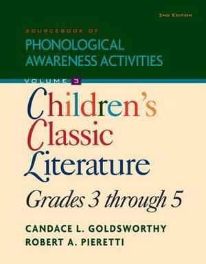 Sourcebook of Phonological Awareness Activities: Children's Classic Literature: Grades 3 to 5