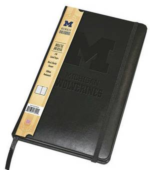 Michigan Wolverines Deluxe Journal