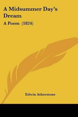 A Midsummer Day's Dream: A Poem (1824)