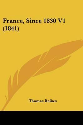 France, Since 1830 V1 (1841)