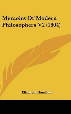 Memoirs of Modern Philosophers V2 (1804)