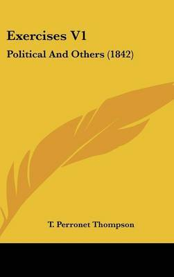 Exercises V1: Political and Others (1842)