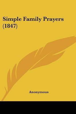 Simple Family Prayers (1847)