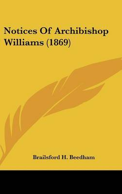 Notices Of Archibishop Williams (1869)