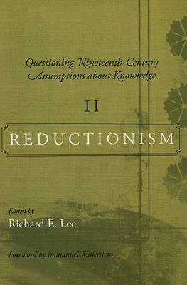 Questioning Nineteenth-century Assumptions About Knowledge: Reductionism: v. 2