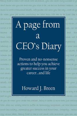 A Page from a CEO's Diary