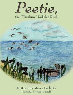 Peetie, the  Thinking  Dabbler Duck