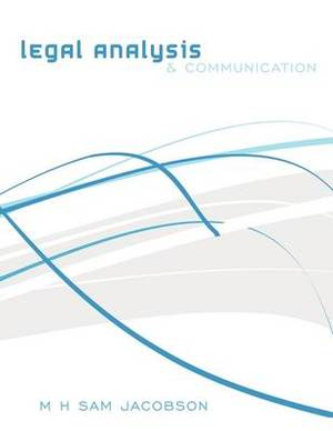 Legal Analysis and Communication