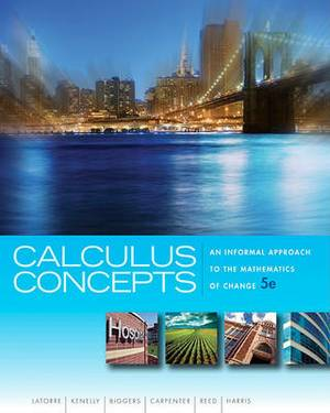 Calculus Concepts: An Informal Approach to the Mathematics of Change