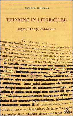 Thinking in Literature: Joyce, Woolf, Nabokov