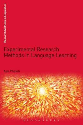 Experimental Research Methods in Language Learning