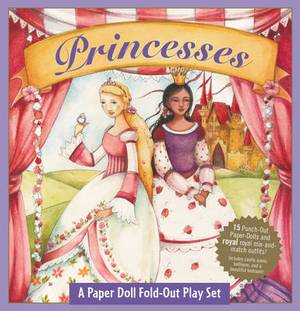 Fold-Out Playset Princesses