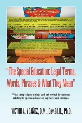 Special Education: Legal Terms, Words and Phrases