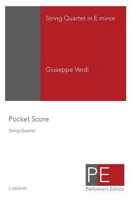 String Quartet in E Minor: Pocket Score