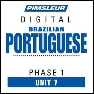 Pimsleur Portuguese (Brazilian) Level 1 Lesson 7 MP3: Learn to Speak and Understand Brazilian Portuguese with Pimsleur Language Programs
