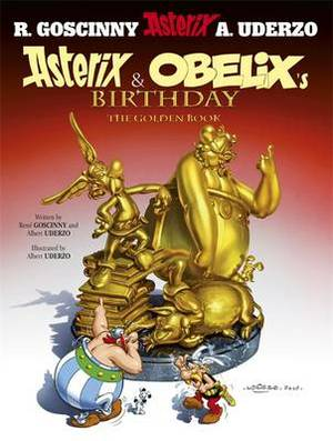 Asterix: Asterix and Obelix's Birthday: The Golden Book, Album 34