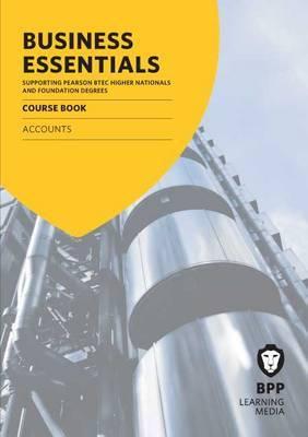 Business Essentials Accounts: Study Text