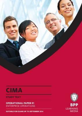 CIMA Enterprise Operations: Study Text