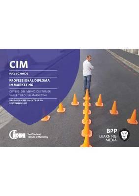 CIM - Professional Diploma Level: Passcards