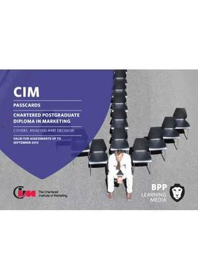 CIM - Post Graduate Diploma Level: Passcards