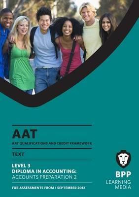 AAT - Accounts Preparation 2: Study Text (L3)