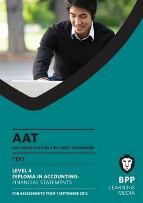 AAT - Financial Statements: Study Text (L4M)