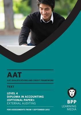AAT - External Auditing: Study Text (L4O)