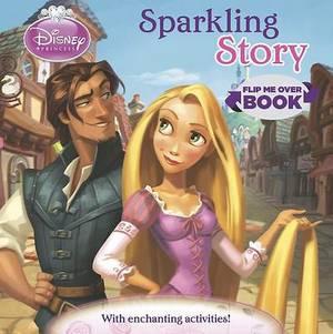 Disney Princess Flip Me Over - Activity and Story Book