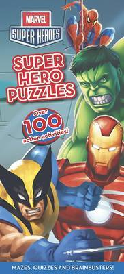 Marvel Super Heroes Puzzle Book