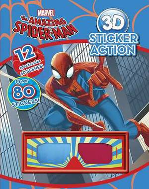 Marvel The Amazing Spiderman 3d Sticker Action