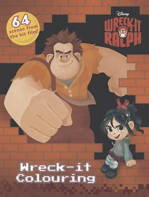 Disney Wreck-it Ralph Wreck-it Colouring
